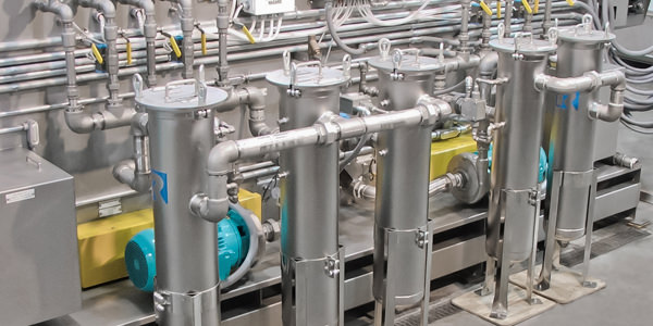 filtration for aqueous parts washers